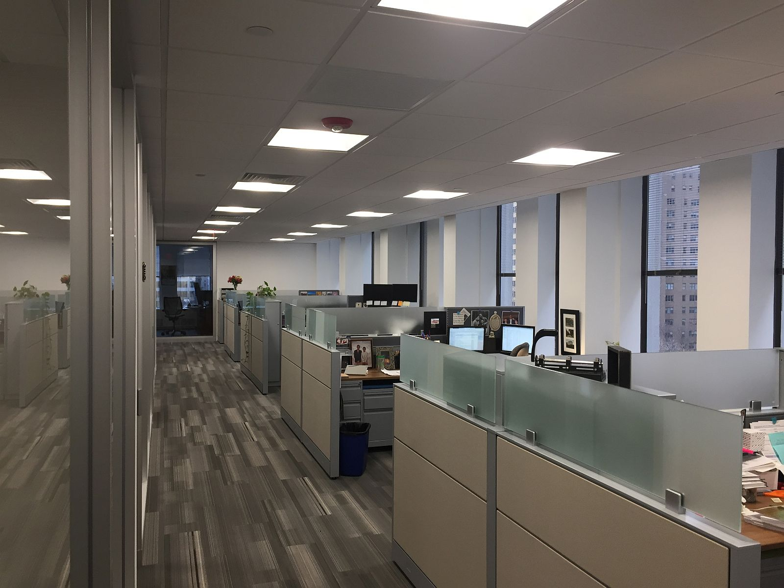 Office renovation modern fit-out of JEVS headquarters