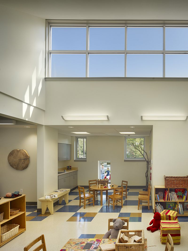 interior preschool classroom the philadelphia school